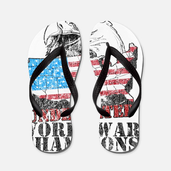 Undefeated World War Champs Flip Flops