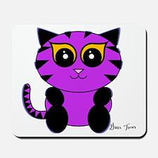 Purple Kitty Mousepad