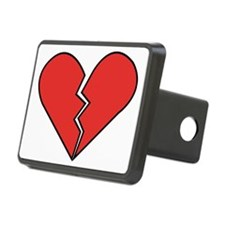 Broken Heart Hitch Cover