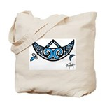Pictish V-Rod Crescent Tote Bag