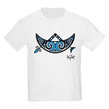 Pictish V-Rod Crescent Kids T-Shirt