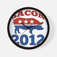Bacon 2012 Wall Clock