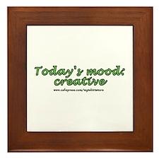 Today's Mood: Creative Framed Tile