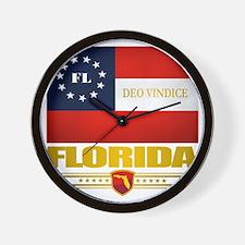 Florida Deo Vindice Wall Clock
