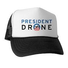 President Drone Trucker Hat