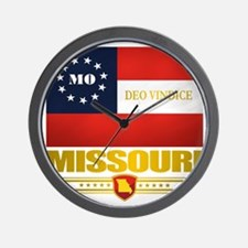 Missouri Deo Vindice Wall Clock