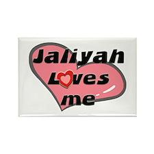 jaliyah loves me Rectangle Magnet