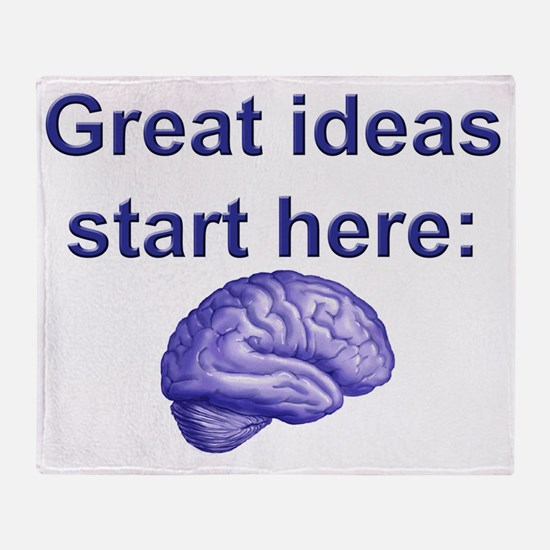 Great ideas Throw Blanket