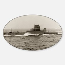 uss grouper agss framed panel print Decal
