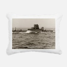 uss grouper agss large f Rectangular Canvas Pillow