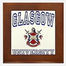 GLASGOW University Framed Tile