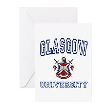 GLASGOW University Greeting Cards (Pk of 10)