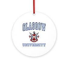 GLASGOW University Ornament (Round)
