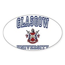 GLASGOW University Oval Decal
