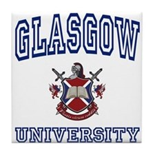 GLASGOW University Tile Coaster