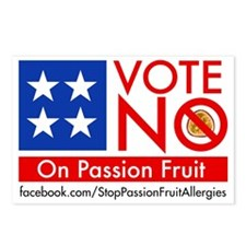Vote No on Passion Fruit Postcards (Package of 8)