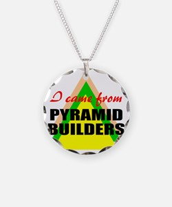 African American pride Necklace Circle Charm