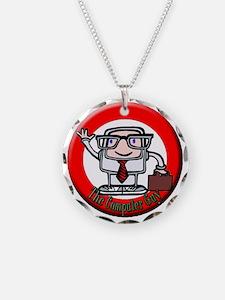 logolabel1 Necklace Circle Charm