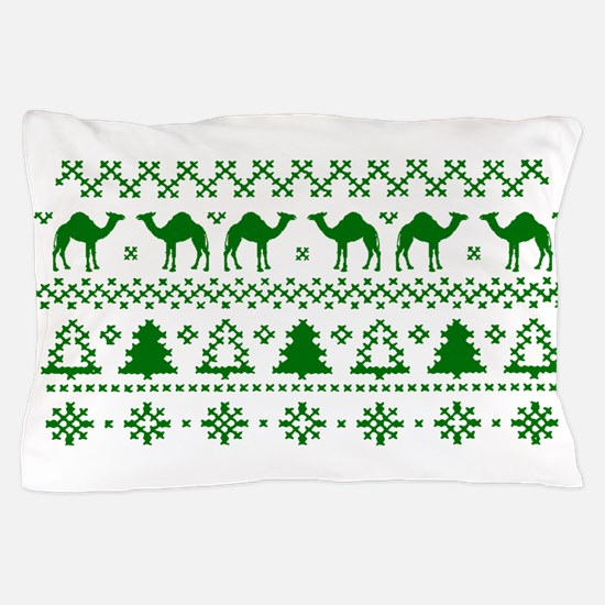 Christmas Hump Day Camel Ugly Sweater Pillow Case
