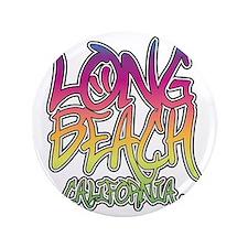"""Long Beach Graffiti W 3.5"""" Button"""