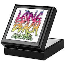 Long Beach Graffiti W Keepsake Box