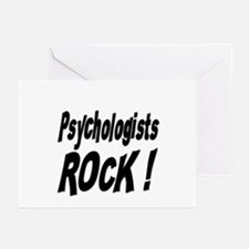 Psychologists Rock ! Greeting Cards (Pk of 10)