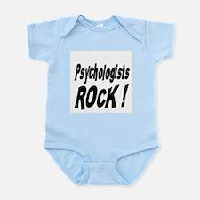 Psychologists Rock ! Infant Bodysuit