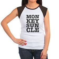 MONKEYS UNCLE Women's Cap Sleeve T-Shirt