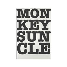 MONKEYS UNCLE Rectangle Magnet