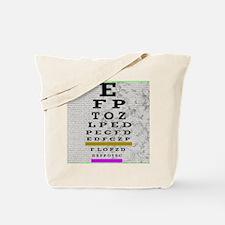 optomitrist blanket green Tote Bag