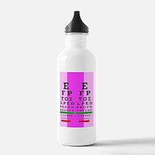 Eye Chart FF 2 Water Bottle
