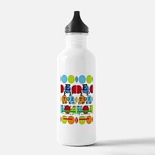 Eye Chart FF 8 Water Bottle