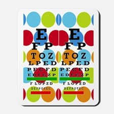 Eye Chart FF 8 Mousepad