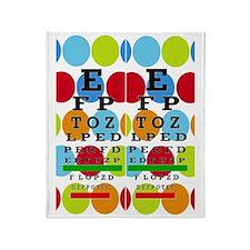 Eye Chart FF 8 Throw Blanket