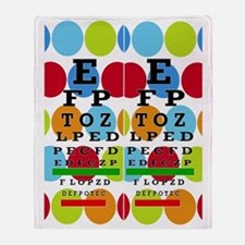 Eye Chart FF 8 Throw Blanket