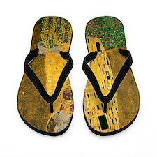 Gustav Klimt Flip Flops