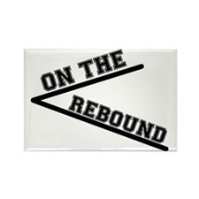 ON THE REBOUND Rectangle Magnet