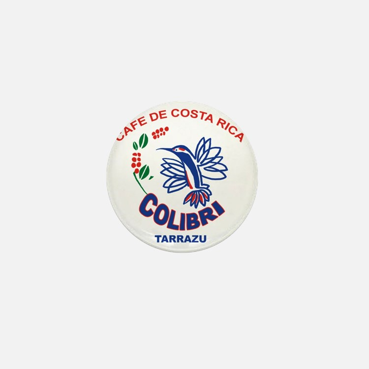 Cafe De Costa Rica Mini Button