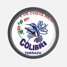 Cafe De Costa Rica Wall Clock