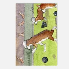 Bowls on the green Postcards (Package of 8)