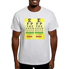 Eye Chart FF 5 T-Shirt