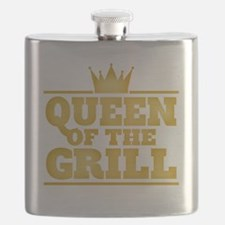 Queen of the Grill Flask