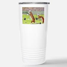 Bowls on the green Travel Mug