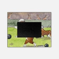 Bowls on the green Picture Frame