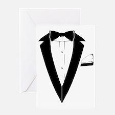 TUXEDO Tshirt (007 style) Greeting Card
