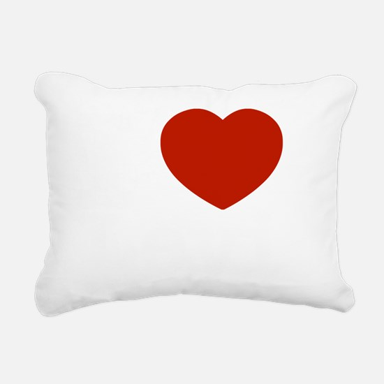 I love Levi Rectangular Canvas Pillow