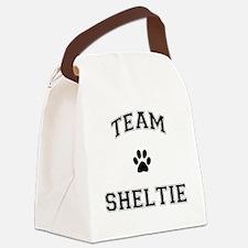 Team Sheltie Canvas Lunch Bag
