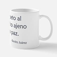 El respeto Mug