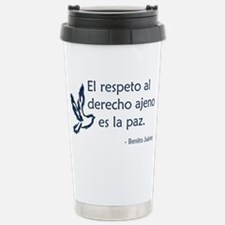 El respeto Travel Mug