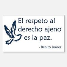 El respeto Decal